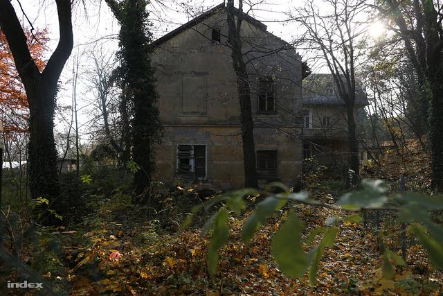 A műemléki védelem alatt álló Steindl-villa a Svábhegyen, a Jókai kertben