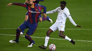 A játékosok értéke alapján felborulna a pálya a Ferencváros–Barcelona-mérkőzésen