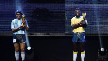 Pelé és Maradona relikviáit együtt árverezik el