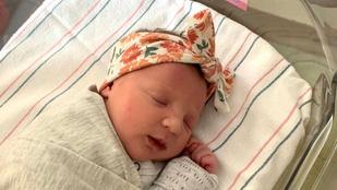 27 évig lefagyasztott embrióból született egészséges gyermek