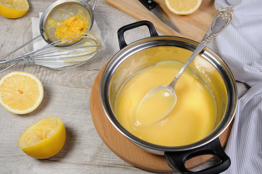 Így készül a tökéletes citromkrém: légies, könnyed és szép tartása van
