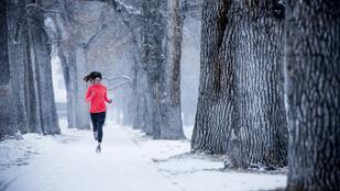 A hidegben edzés szuper, de a rendszeresség még fontosabb, mint egyébként