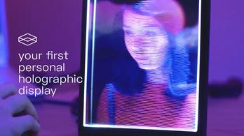 A holo-videóhívás előszobája az olcsó holografikus képkeret