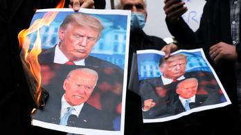 Háborút hagyhat-e Bidenre Trump?