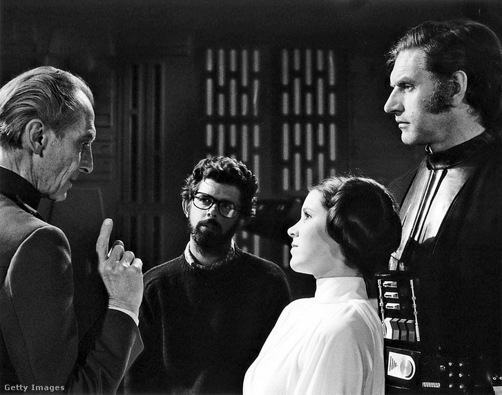 David Prowse maszk és sisak nélkül, Darth Vaderként