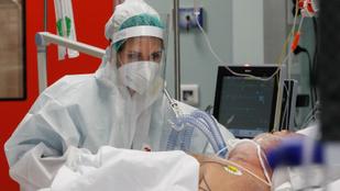 Olaszországban soha ennyien nem haltak még meg a koronavírus miatt