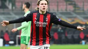 Kétgólos hátrányból fordított az AC Milan az Európa-ligában