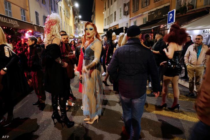 Jelenet az idei februári nizzai karneválról