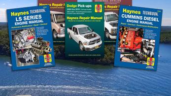 Nem írnak több nyomtatott Haynes javítási kézikönyvet