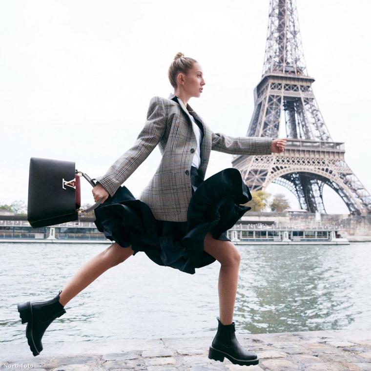 Na de most vissza a francia világmárka kampányfotóihoz, amiket Párizsban fotóztak