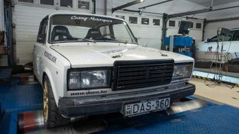 Totalcar Erőmérő: Lada 2107 versenyautó – 1989.