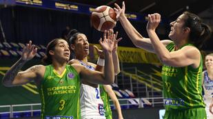 Százszázalékos mérleggel zárta a Sopron a hazai Euroliga-buborékot