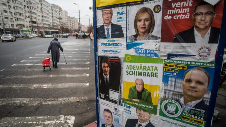 Romániai választások magyar téttel