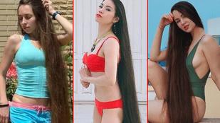 Hat nő, extrémhosszú hajjal – melyiküknek áll a legjobban?