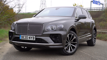 Teszt: Bentley Bentayga V8 First Edition - 2020.