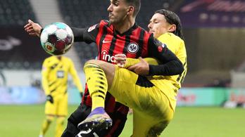 A Dortmund a Frankfurtot sem tudta legyőzni