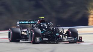Mercedes első sor a Szahíri Nagydíjon, Valtteri Bottas indulhat az élről