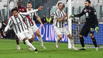 A Juventus hátrányból nyerte meg a torinói városi derbit