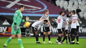Mindkét manchesteri csapat két góllal nyert a Premier League-ben