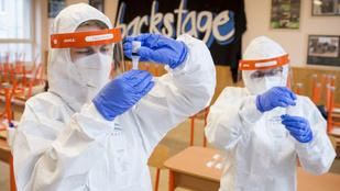 Koronavírus: az Orbán-kormány leállítja a pedagógusok tesztelését