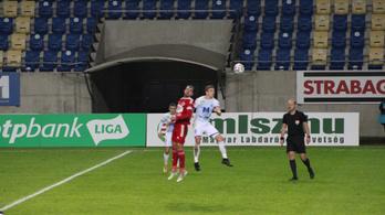 Nem hozott gólt a Puskás Akadémia és a Kisvárda csatája