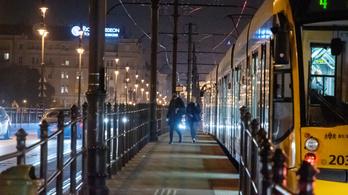 Pótlóbusz jár a nagykörúti villamosok helyett hétfő este