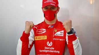 Mick Schumacher bajnoki címmel búcsúzott a Forma–2-től