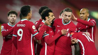 A Liverpool kiütötte a Wolverhamptont