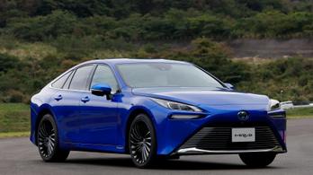 Kiderült az új hidrogén-hajtású Toyota európai ára