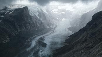 Az évszázad végére a gleccserek 92 százaléka eltűnhet az Alpokból