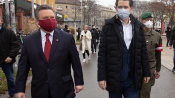 Mától enyhítettek a koronavírus miatti korlátozásokon Ausztriában