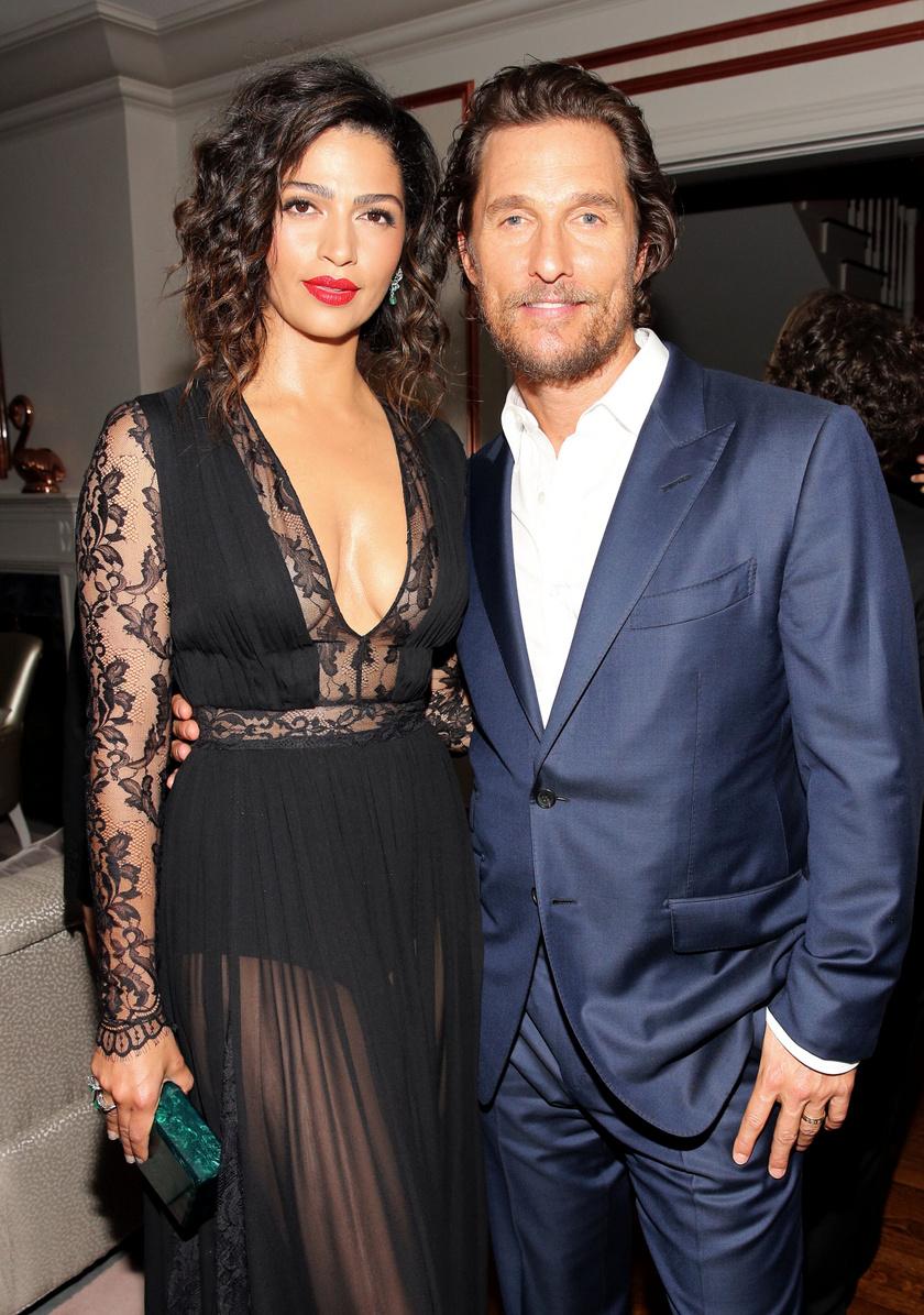 Matthew McConaughey és Camila Alves.