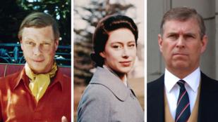 5 királyi családtag, aki botrányos életével árnyékot vetett II. Erzsébet jó hírnevére