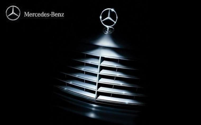 Egy kis fény-árnyék játék Mercedesszel