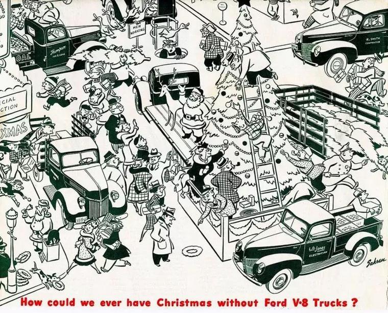 Ma már megmosolyogtató a kérdés: hogyan karácsonyozhatnánk V8-as pickup nélkül? Valahogy azért csak el tudjuk képzelni