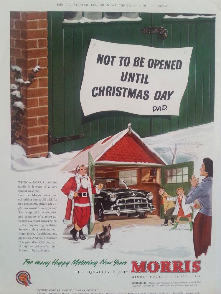 Karácsony előtt ne nyisd ki! Na de a garázst? Természetesen egy Morris áll benn