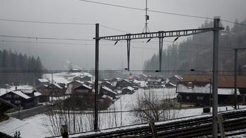 Akár tíz évre is evakuálhatnak egy svájci várost