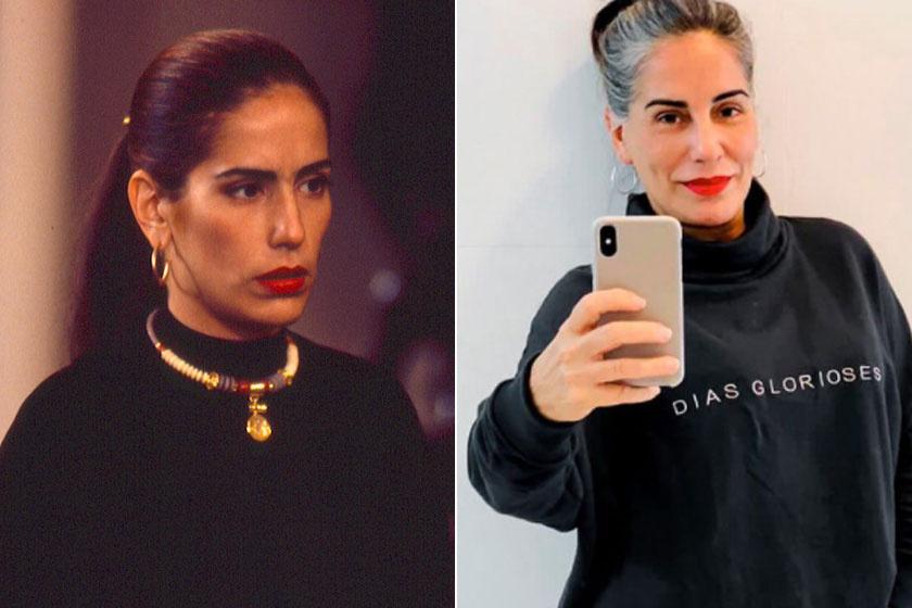 Glória Píres játszotta az ikerpárt, a jóságos Ruthot és a gonosz Raquelt. Az 57 éves brazil színésznő most is gyönyörű.