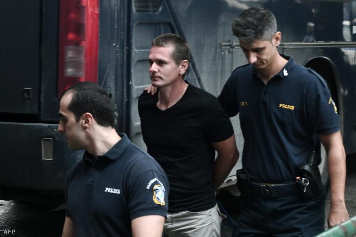 Alexander Vinnik letartóztatása Thessalonikiben 2017. október 4-én