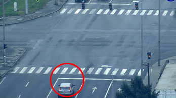 Drónnal csapott le a rendőrség a szabálysértő autósokra – videó