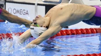 Telegdy Ádám olimpiai A szintes 100 méter háton