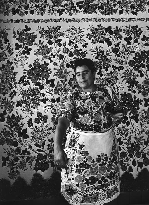 Pingálóasszony, Kalocsa, 1969.