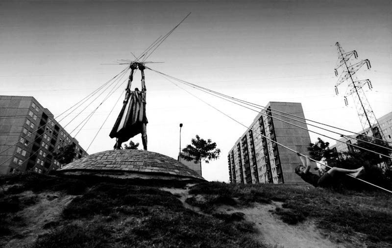 Újhegyi park, 1983.