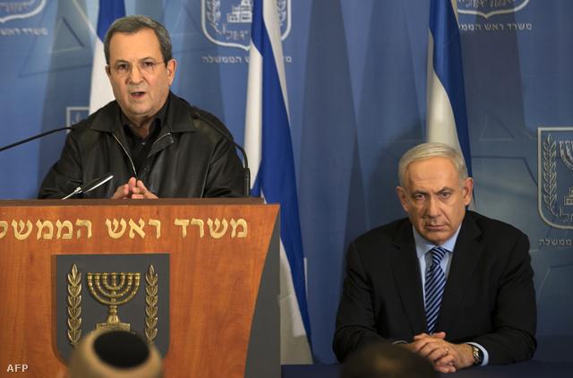 Barak és Netanyahu