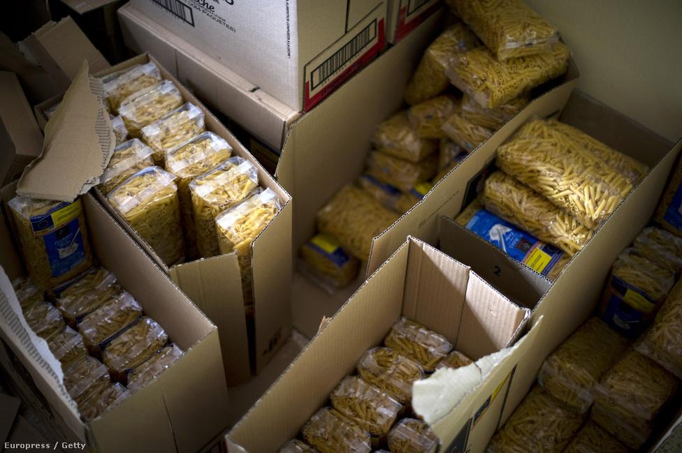 A spanyol Vöröskereszt rendszeresen szállít ételt és adományokat a városba. Októberben az országot a bóvli kategória határára minősítették le.