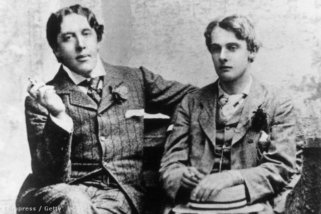 Oscar Wilde (1854 - 1900) és Lord Alfred Douglas (1870 - 1945)