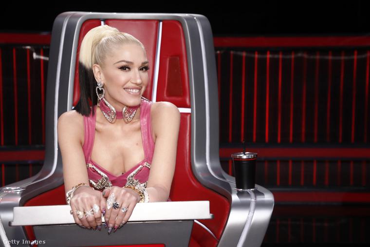 Gwen Stefani a Voice című tévéműsor felvételén