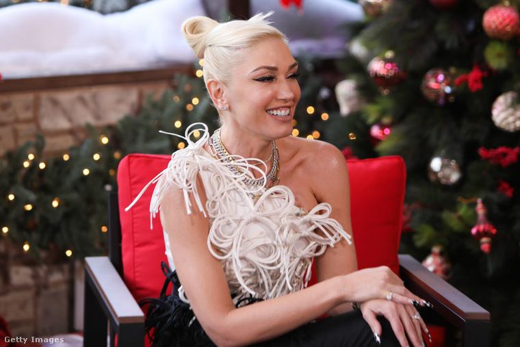 Gwen Stefani egy sajtóeseményen