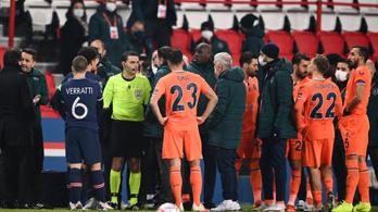 Rasszizmus vádjával vizsgálódik az UEFA, új bíró a PSG-meccsen