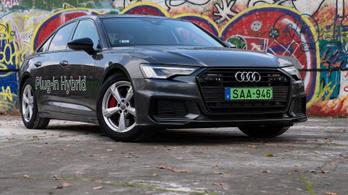 Teszt: Audi A6 55 TFSI e quattro S tronic - 2020